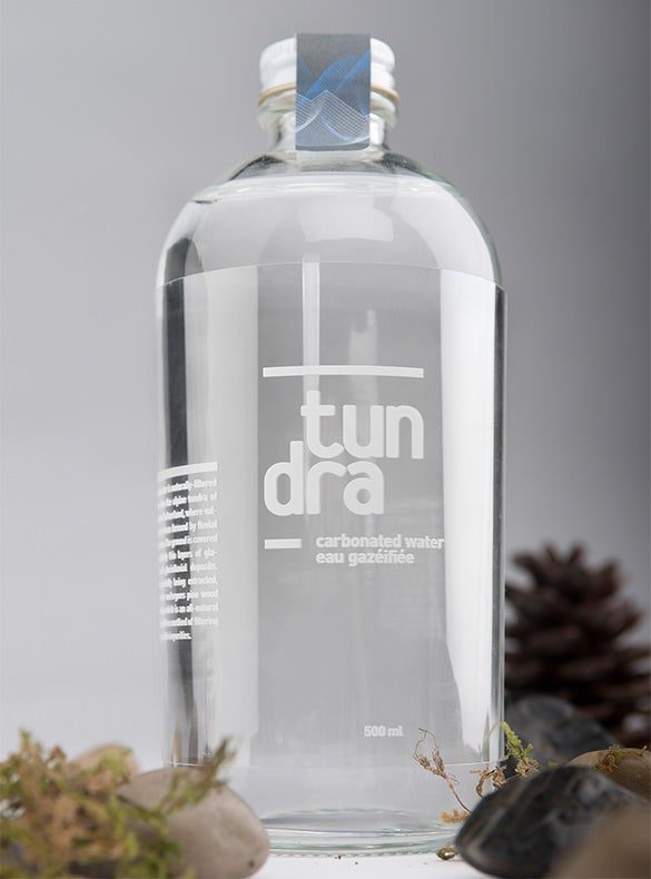 tundra water bottle template