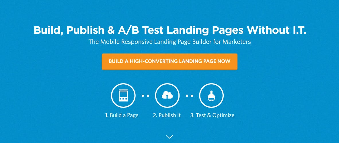 unbounce landing page generator