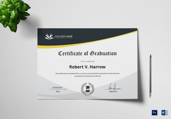 universal-college-graduation-certificate-template