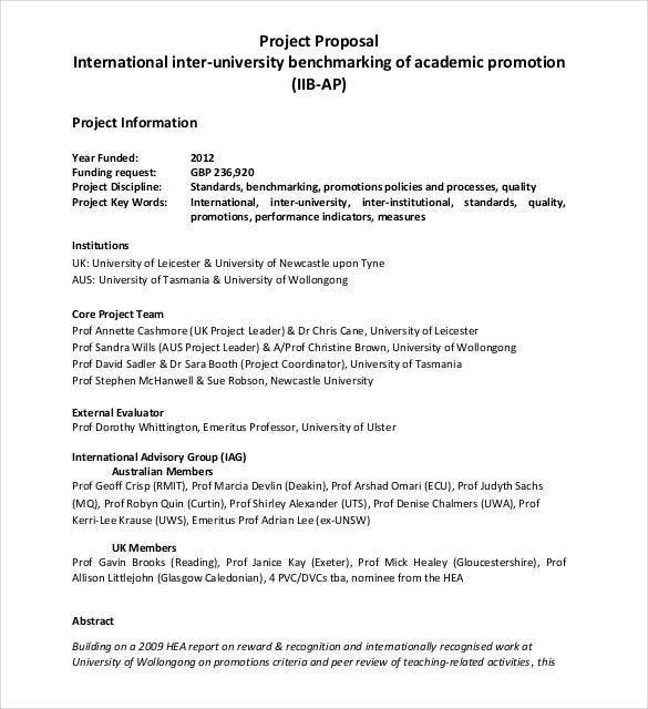 university-project-proposal-template