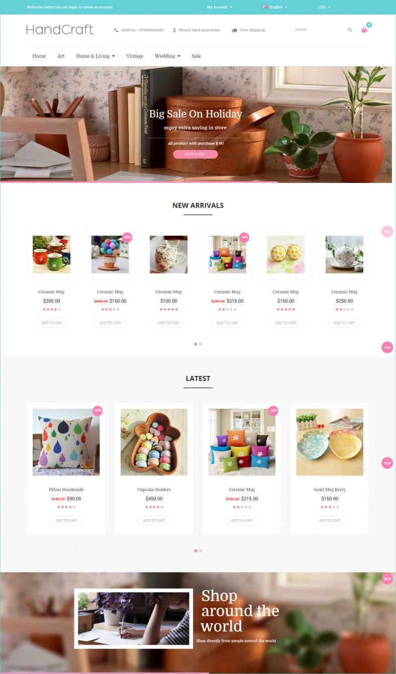 unlimited color options open cart theme 788x1341