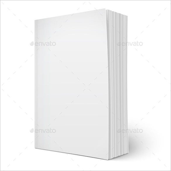 vertical blank brochure template 4