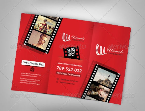 12+ Amazing Video Brochure Templates | Free & Premium Templates