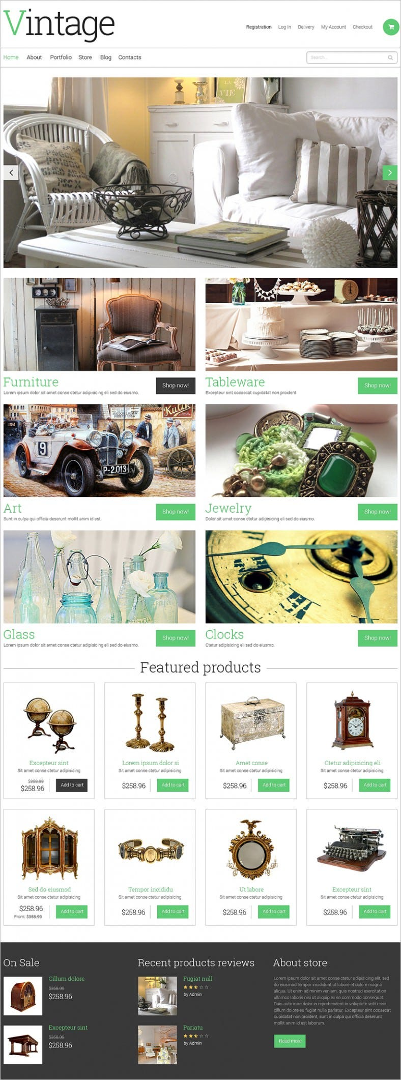 vintage antique store responsive woocommerce theme1 788x2123