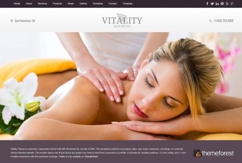 vitality joomla health beauty salon theme 788x531