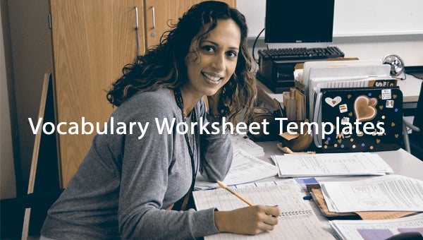 vocabularyworksheettemplate
