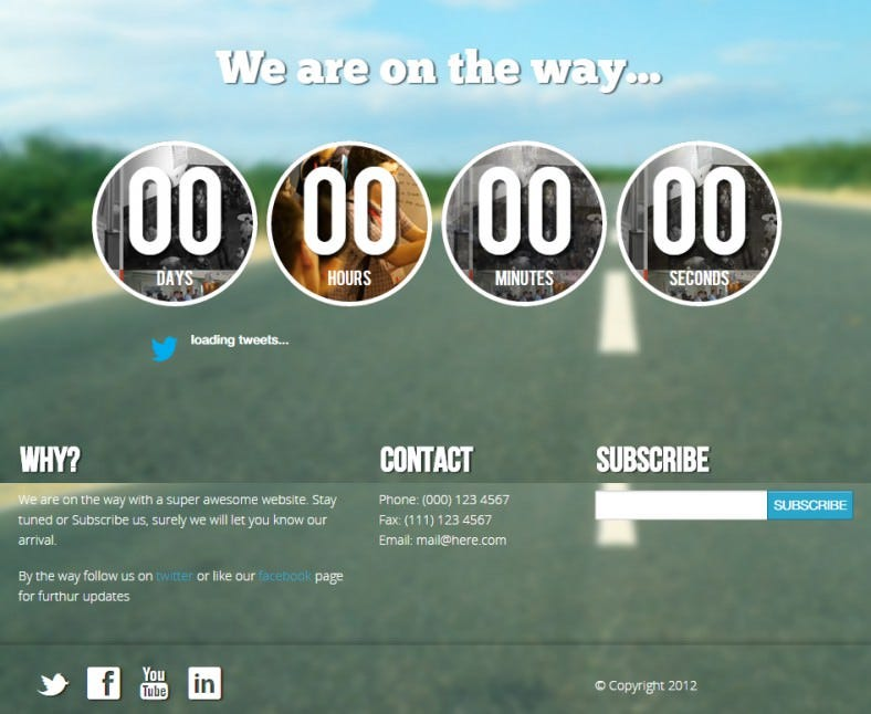 waow unique responsive coming soon html5 788x646