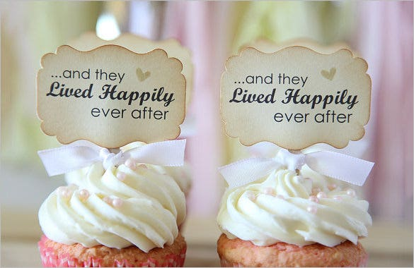 wedding cupcake template 9