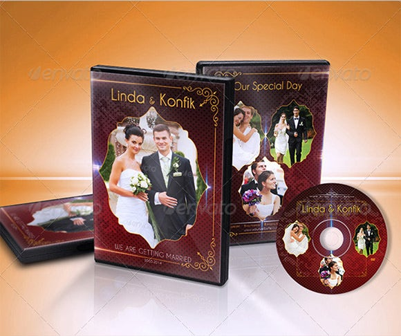 wedding dvd cover cd label