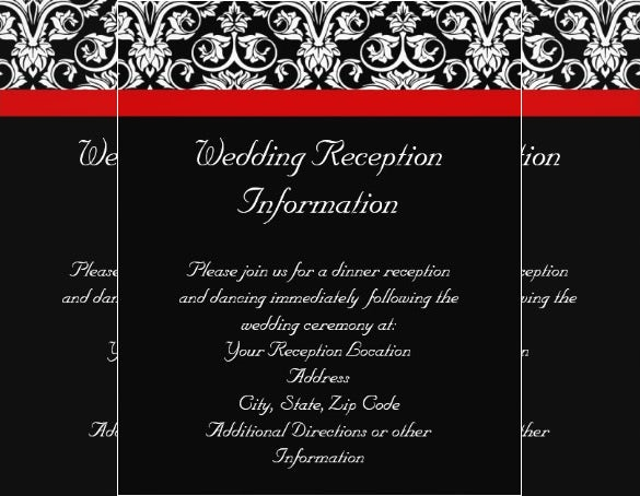 wedding event black and white premium flyer template