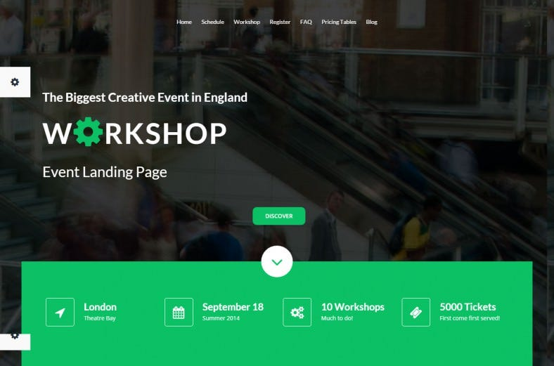 well documented workshop event landing template 788x521