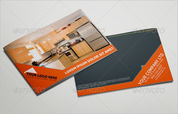 well organised real estate brochure or catalog for 8