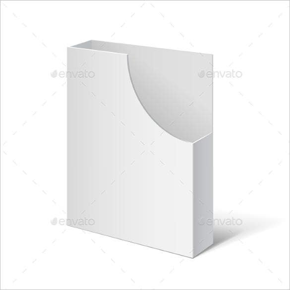 white holder for brochures eps design template 4 - Paper Brochure Holder Template