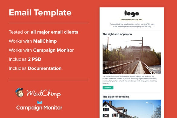 15 Best Outlook Email Templates Free Premium Templates