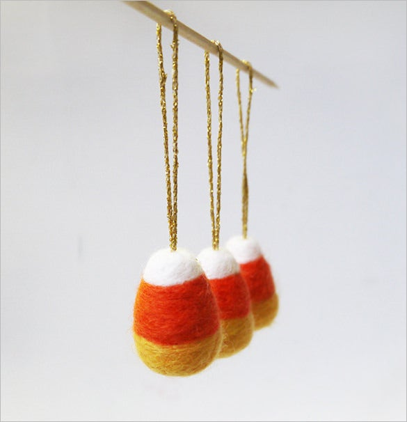 wool felt halloween candy corn template 15