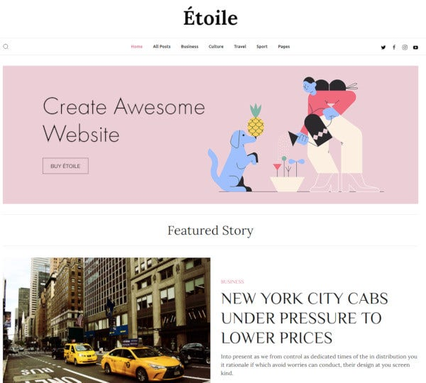 writers responsive jekyll theme