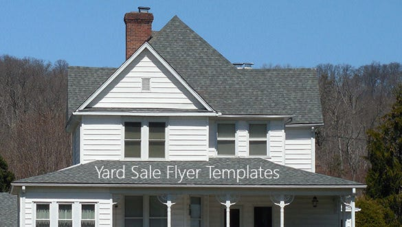 yardsaleflyertemplates