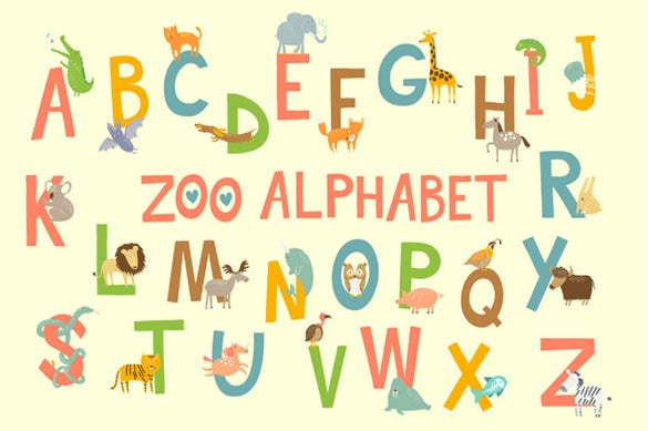 15 Best Printable Alphabet Letters & Designs