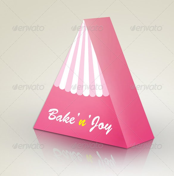 Template For Cake Design : 15+ Amazing Cake box templates Free & Premium Templates