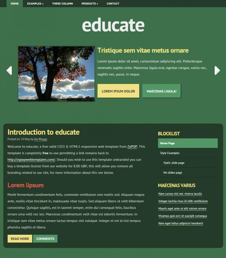 7 free jquery website templates amp themes free premium templates