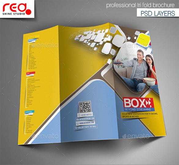 pages brochure templates free - 12 amazing video brochure templates free premium