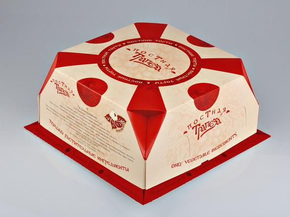 free cake box templates