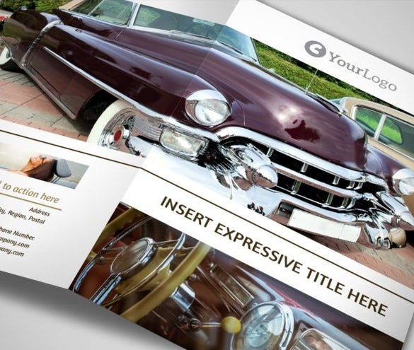 free old car brochures