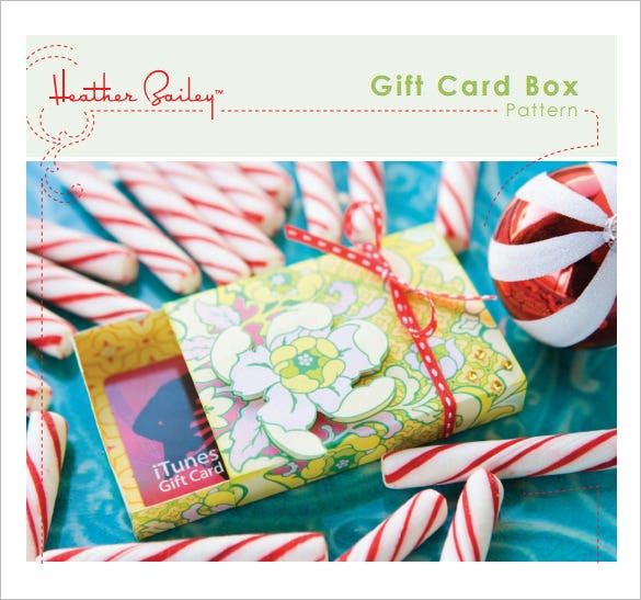gift box template printable