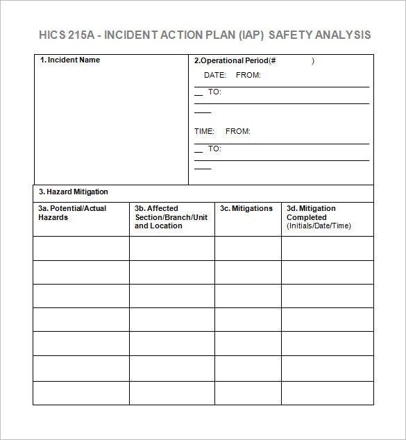 Quality action plan template excel download 45 free for Preventive action plan template