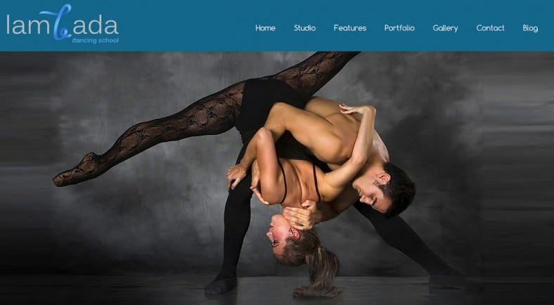 lambada wordpress dance school theme 788x434