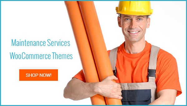 maintenance services woocommerce themes