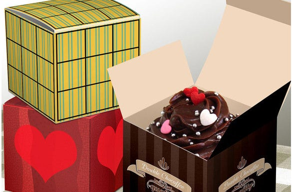 small cake boxes
