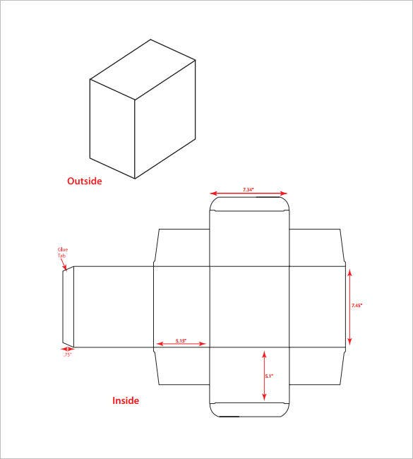 Best Rectangular Box Templates  Designs  Free  Premium