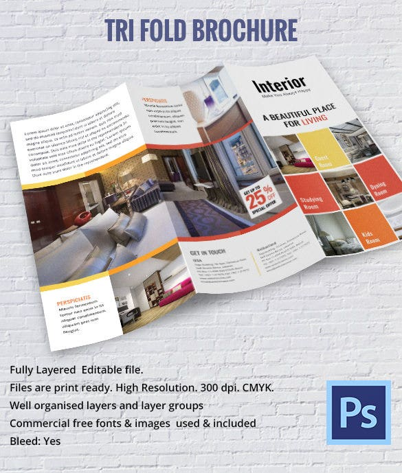 Interior Design Brochure - 25+ Free Psd, Eps, Indesign Format