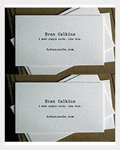100-Custom-Letterpress-Calling-Cards
