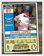 Baseball-Card-Invitation-Template