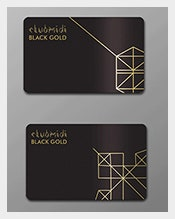 Black-Gold-&Pink-Gold-Membership-Card