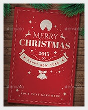Merry-Christmas-Holiday-card-Template