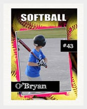 PSD-Softball-Trading-Card-Template