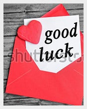 Red-Colour-Good-Luck-Card