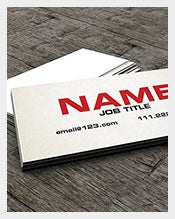 The-Slim-Calling-Card-Template