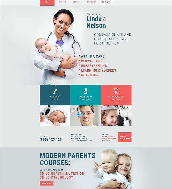 pediatrician responsive html5 template
