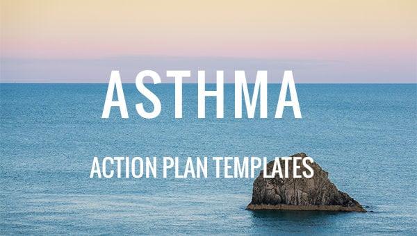 asthmaactionplantemplates