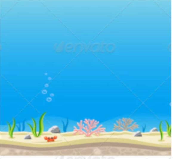 10-under-ocean-game-background