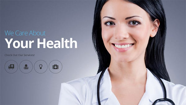 medical psd theme