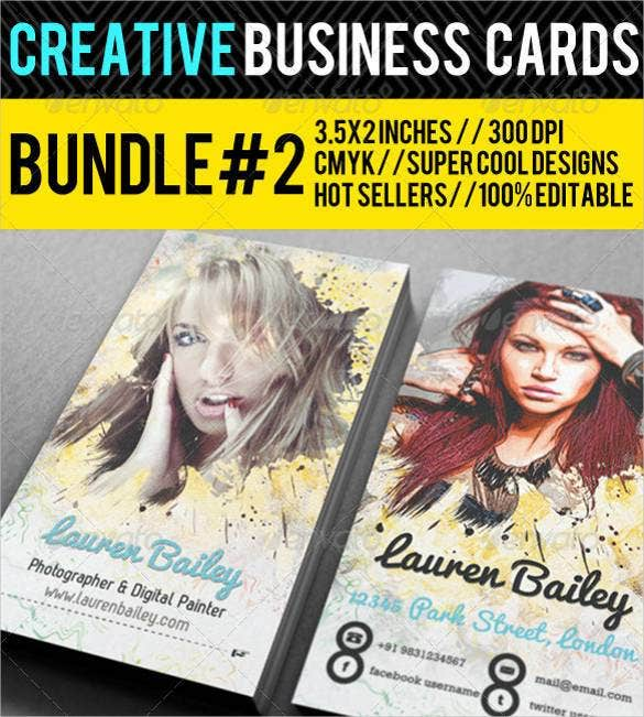 creative staple business card premium bundle1