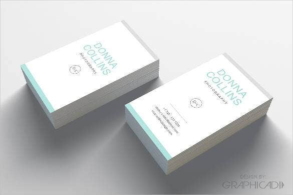simple clean business card design1