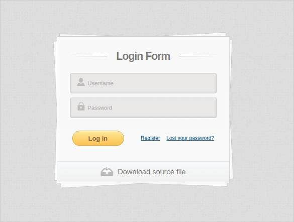 awesome design html5 and css3 login sign up forms1