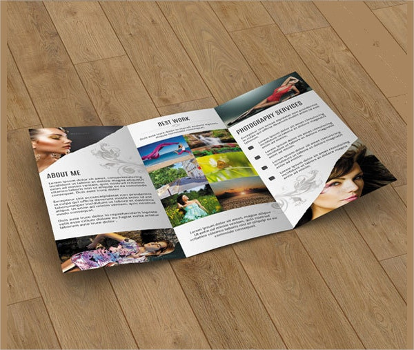 Tri Fold Marketing Brochure Template