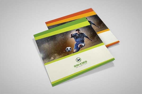 Square Sport Marketing Trifold Brochure